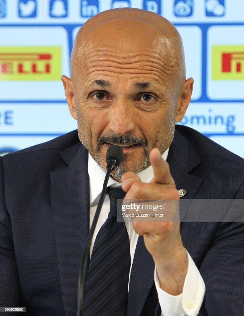 FC Internazionale Presents New Coach Luciano Spalletti