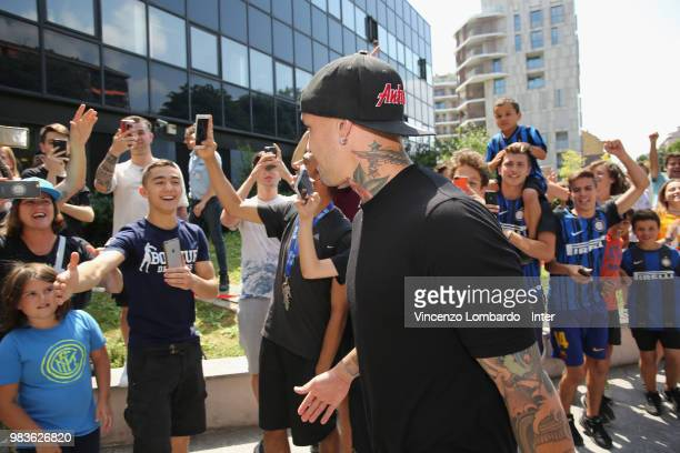 Internazionale New Signing Radja Nainggolan Attends Medical Tests on June 25 2018 in Milan Italy