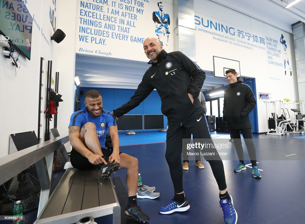 FC Internazionale New Signing Rafinha Medical Tests