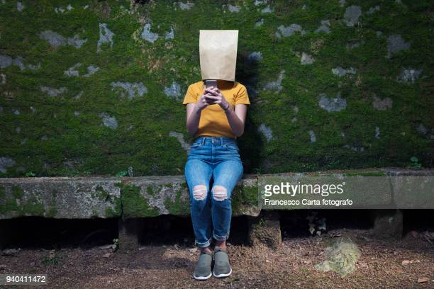 internet addiction - embarrassment stock pictures, royalty-free photos & images