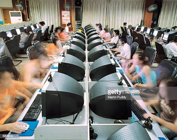 Internet cafe in Guilin