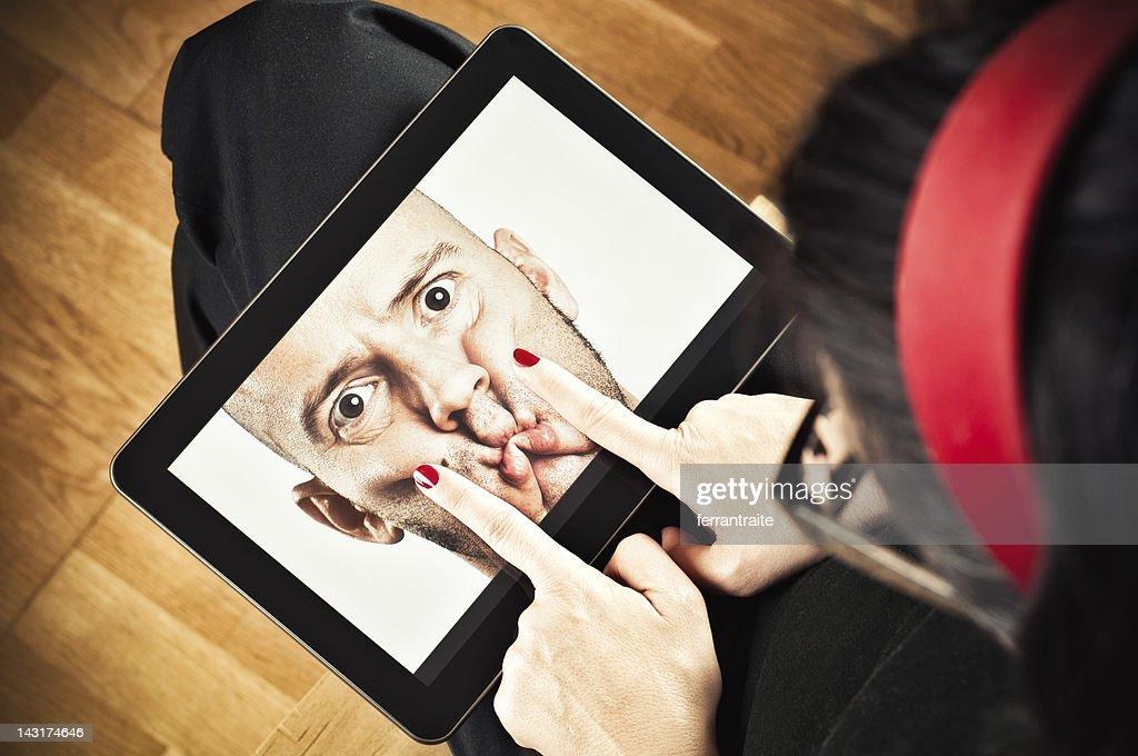 Internet Censure : Stock Photo