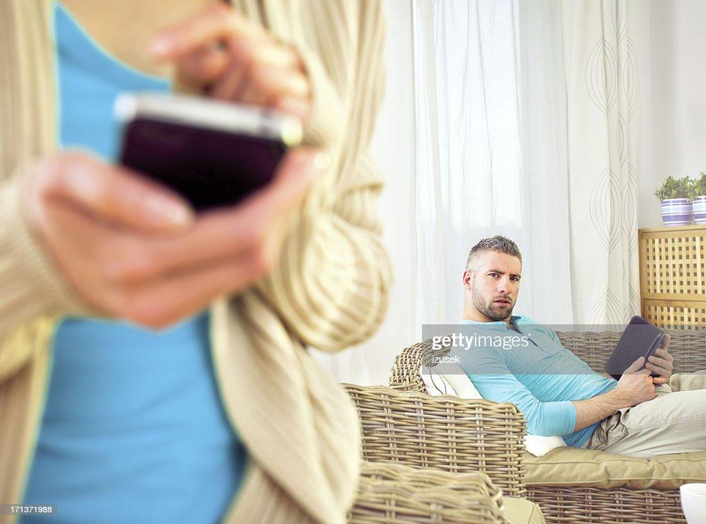 Internet dating : Stock Photo