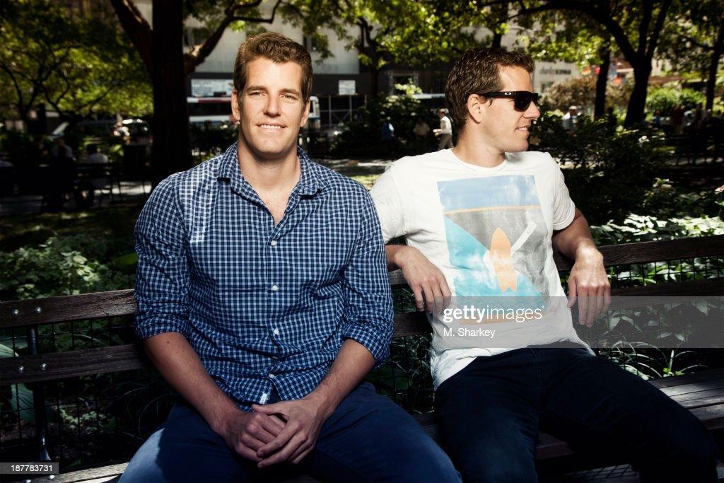 Cameron and Tyler Winklevoss, Bloomberg Markets, November 1, 2013
