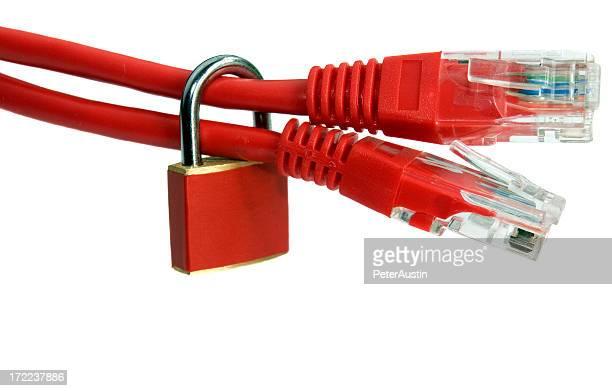 Internet Firewall in Red