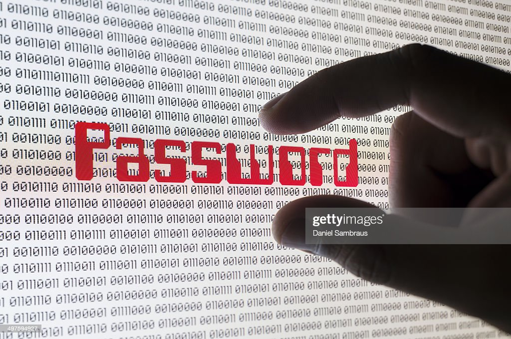 Internet password : Stock Photo