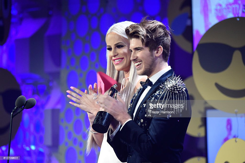 Internet personalities Gigi Gorgeous and Joey Graceffa speak