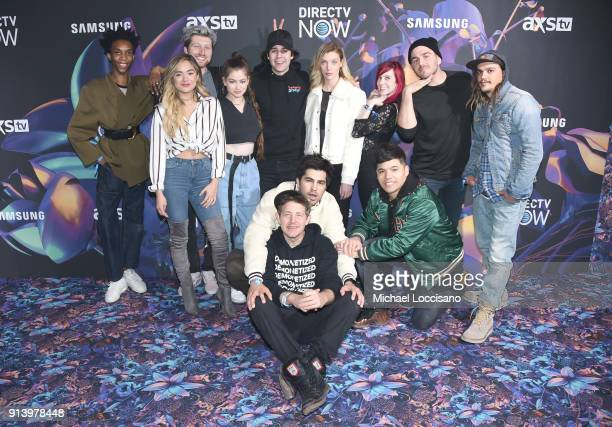 Internet personalities including Parker Kit Hill Chachi Gonzales Scotty Sire Dytto David Dobrik Julien Solomita and Collin Duddy and Todd Smith and...