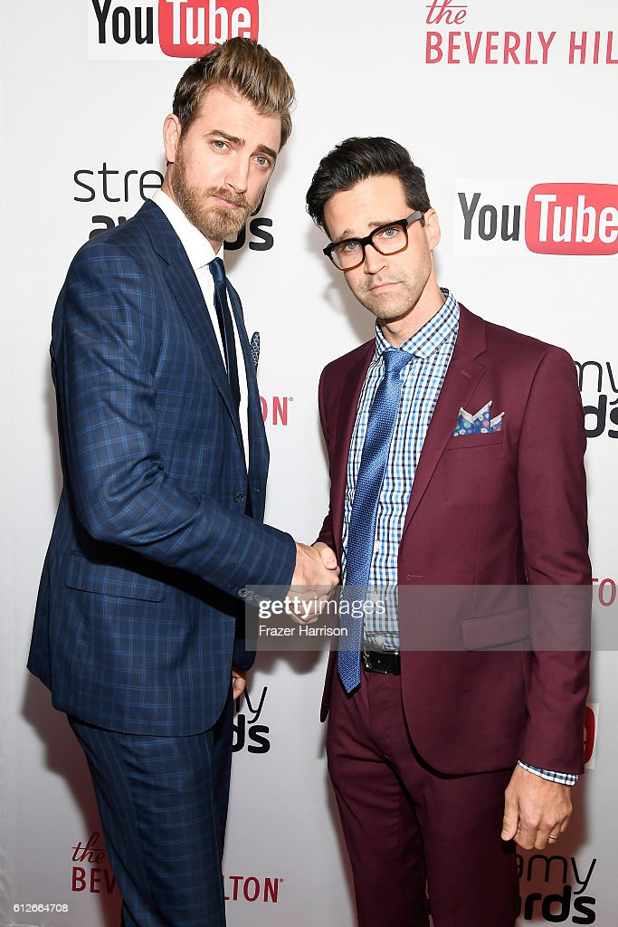 The 6th Annual Streamy Awards Hosted By King Bach And Live Streamed On YouTube - Red Carpet : News Photo