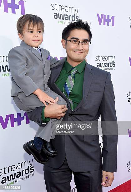 Internet personality Action Movie Kid attends VH1's 5th Annual Streamy Awards at the Hollywood Palladium on Thursday September 17 2015 in Los Angeles...