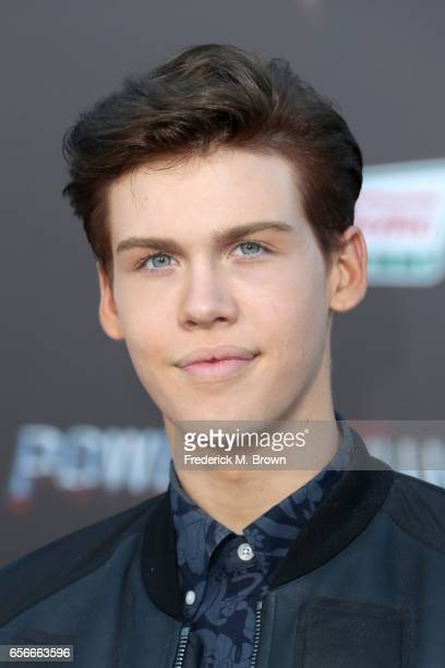 Internet personality Aidan Alexander at the premiere of Lionsgate's 'Power Rangers' on March 22 2017 in Westwood California