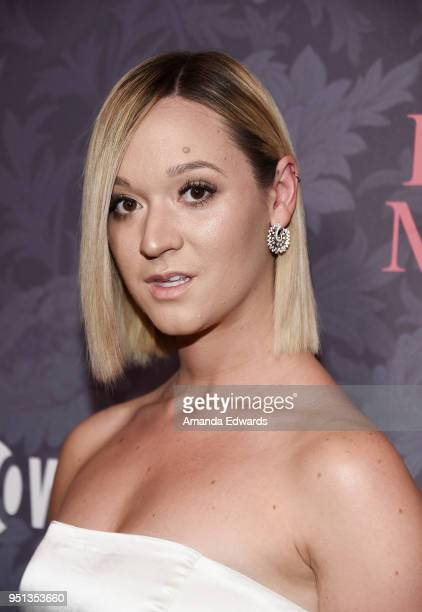 Internet personality Alisha Marie arrives at the premiere of Showtime's Patrick Melrose at the Linwood Dunn Theater on April 25 2018 in Los Angeles...