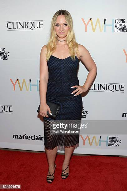Internet personality Alisha Marie attends the 1st annual Marie Claire Young Women's Honors at Marina del Rey Marriott on November 19 2016 in Marina...