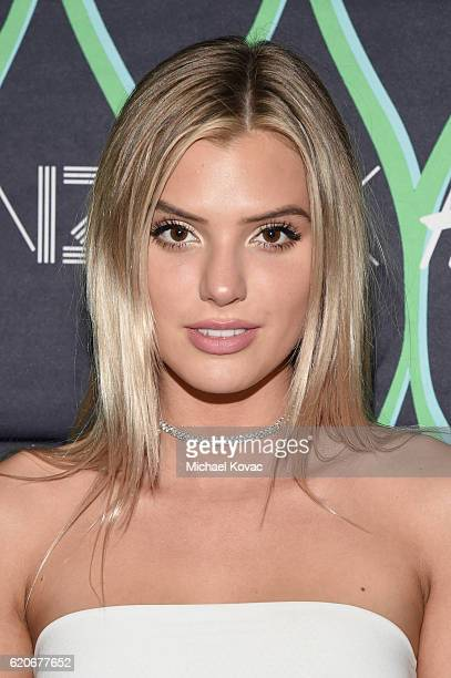 Internet personality Alissa Violet attends the KENZO x HM Los Angeles VIP PreLaunch on November 2 2016 in West Hollywood California