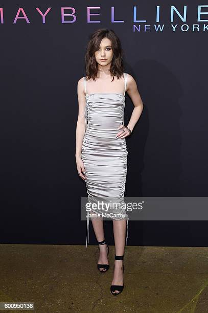 Internet personality Amanda Steele attends the Maybelline New York NYFW KickOff Party on September 8 2016 in New York City