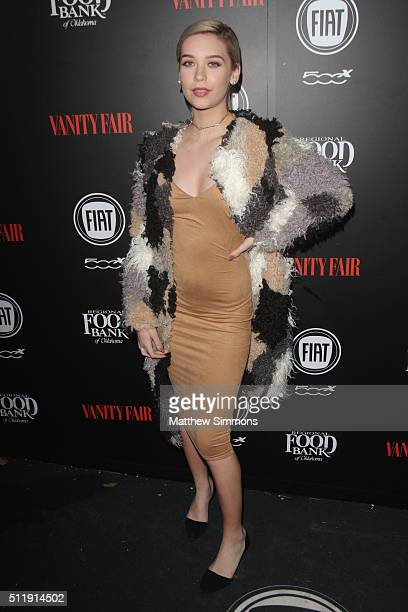 Internet personality Amanda Steele attends Vanity Fair and FIAT Young Hollywood Celebration at Chateau Marmont on February 23 2016 in Los Angeles...