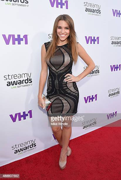 Internet personality Amymarie Gaertner attends VH1's 5th Annual Streamy Awards at the Hollywood Palladium on Thursday September 17 2015 in Los...