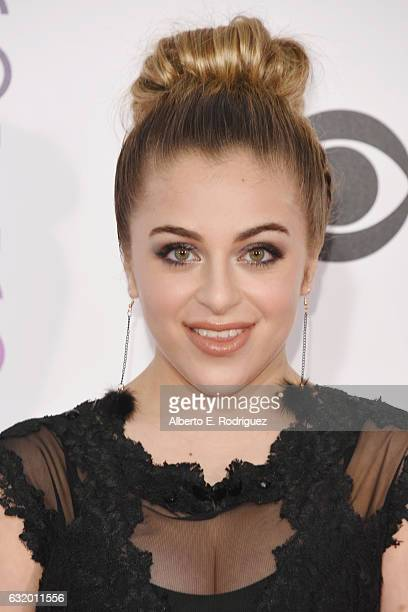 Internet personality Baby Ariel attends the People's Choice Awards 2017 at Microsoft Theater on January 18 2017 in Los Angeles California