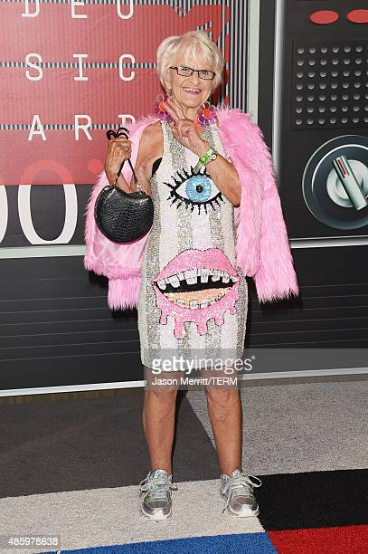 Internet personality Baddie Winkle attends the 2015 MTV Video Music Awards at Microsoft Theater on August 30 2015 in Los Angeles California