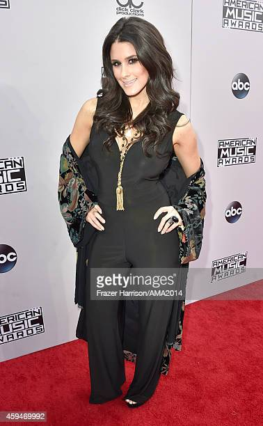 Internet personality Brittany Furlan attends the 2014 American Music Awards at Nokia Theatre LA Live on November 23 2014 in Los Angeles California