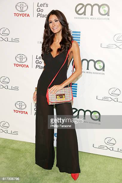 Internet personality Brittany Furlan attends the Environmental Media Association 26th Annual EMA Awards Presented By Toyota Lexus And Calvert at...