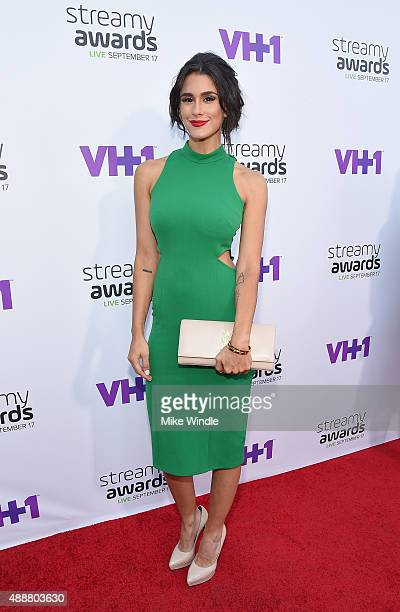 Internet personality Brittany Furlan attends VH1's 5th Annual Streamy Awards at the Hollywood Palladium on Thursday September 17 2015 in Los Angeles...