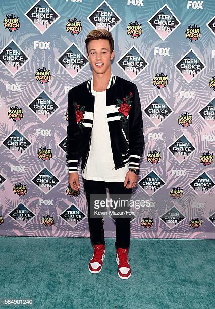 Internet personality Cameron Dallas attends Teen Choice Awards 2016 at The Forum on July 31 2016 in Inglewood California