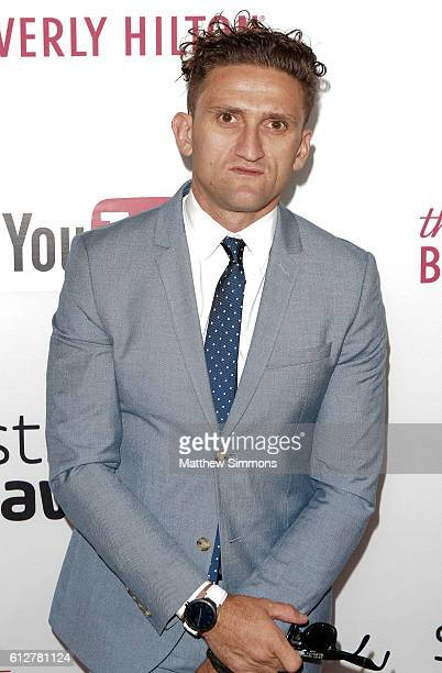 Internet personality Casey Neistat attends the 2016 Streamy Awards at The Beverly Hilton Hotel on October 4 2016 in Beverly Hills California