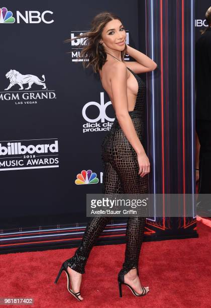 Internet personality Chantel Jeffries attends the 2018 Billboard Music Awards at MGM Grand Garden Arena on May 20 2018 in Las Vegas Nevada
