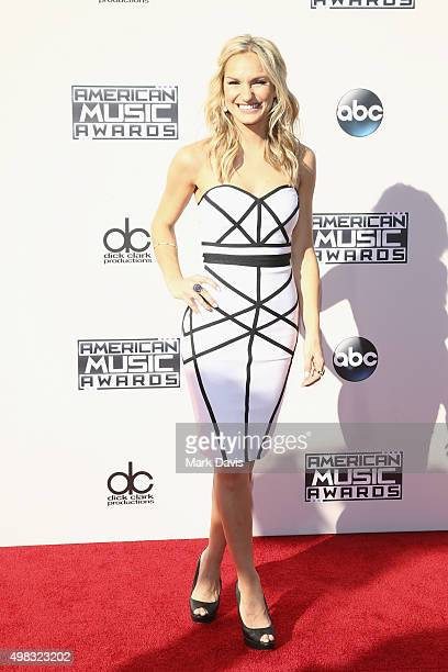 Internet personality Chelsea Briggs attends the 2015 American Music Awards at Microsoft Theater on November 22 2015 in Los Angeles California