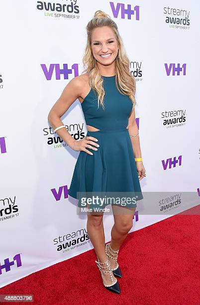 Internet personality Chelsea Briggs attends VH1's 5th Annual Streamy Awards at the Hollywood Palladium on Thursday September 17 2015 in Los Angeles...