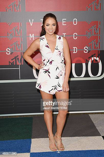 Internet personality Claudia Sulewski attends the 2015 MTV Video Music Awards at Microsoft Theater on August 30 2015 in Los Angeles California
