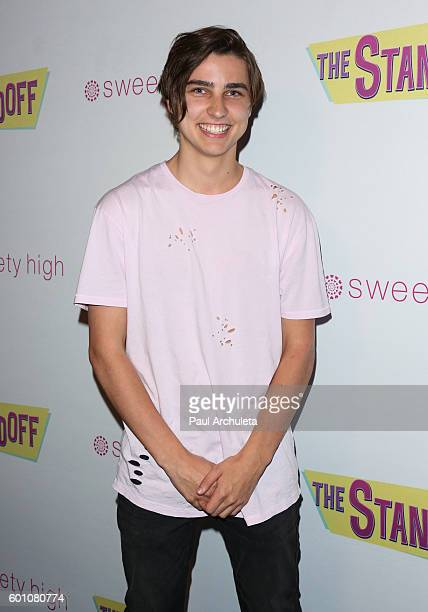 Internet Personality Colby Brock attends the premiere of The Standoff at Regal LA Live A Barco Innovation Center on September 8 2016 in Los Angeles...