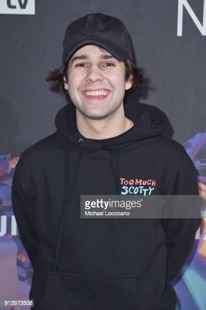 Internet personality David Dobrik attends the 2018 DIRECTV NOW Super Saturday Night Concert at NOMADIC LIVE at The Armory on February 3 2018 in...