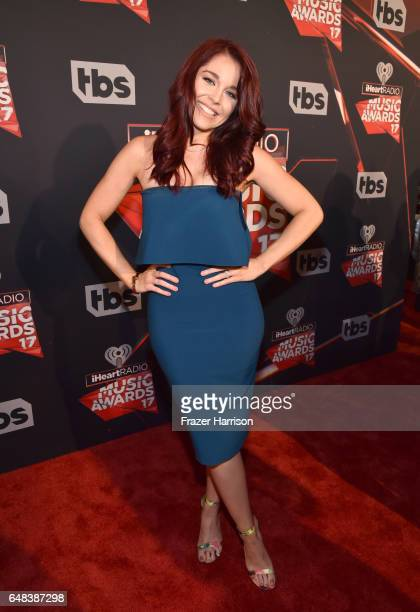 Internet personality Erin Robinson attends the 2017 iHeartRadio Music Awards which broadcast live on Turner's TBS TNT and truTV at The Forum on March...