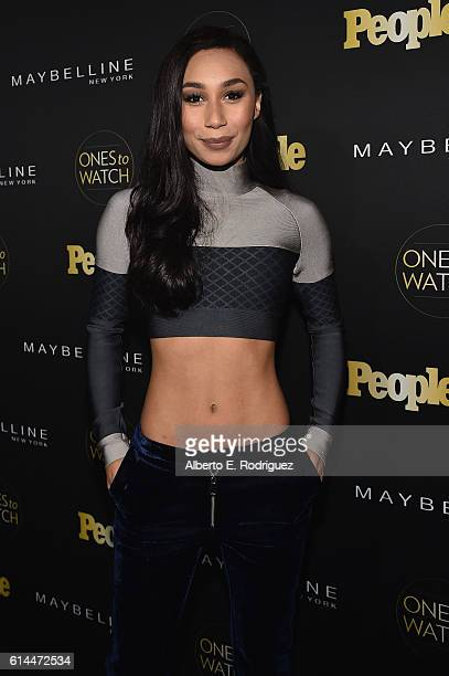 Internet personality Eva Gutowski attends People's Ones to Watch event presented by Maybelline New York at EP LP on October 13 2016 in Hollywood...