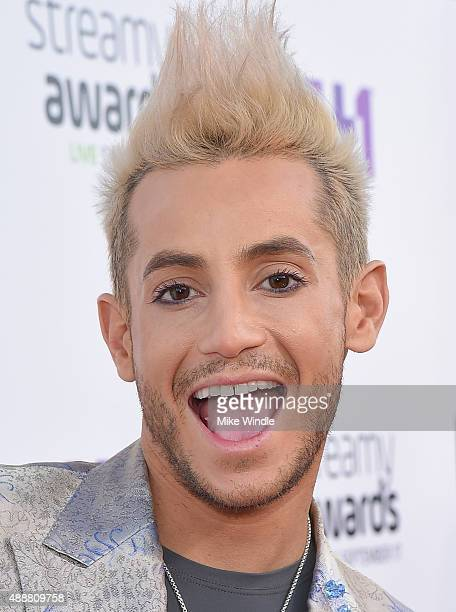 Internet personality Frankie J Grande attends VH1's 5th Annual Streamy Awards at the Hollywood Palladium on Thursday September 17 2015 in Los Angeles...