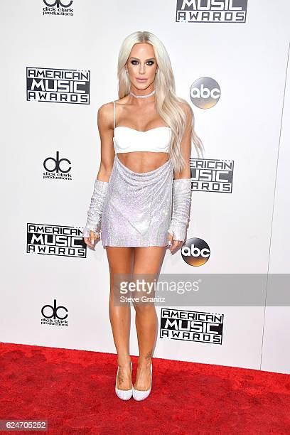 Internet personality Gigi Gorgeous attends the 2016 American Music Awards at Microsoft Theater on November 20 2016 in Los Angeles California