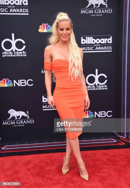 Internet personality Gigi Gorgeous attends the 2018 Billboard Music Awards 2018 at the MGM Grand Resort International on May 20 2018 in Las Vegas...