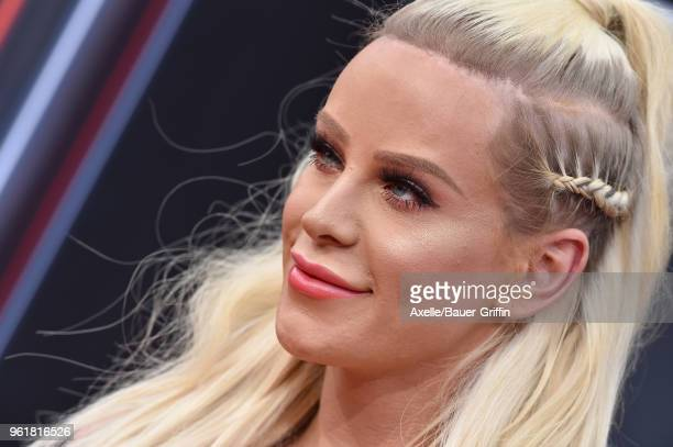 Internet personality Gigi Gorgeous attends the 2018 Billboard Music Awards at MGM Grand Garden Arena on May 20 2018 in Las Vegas Nevada