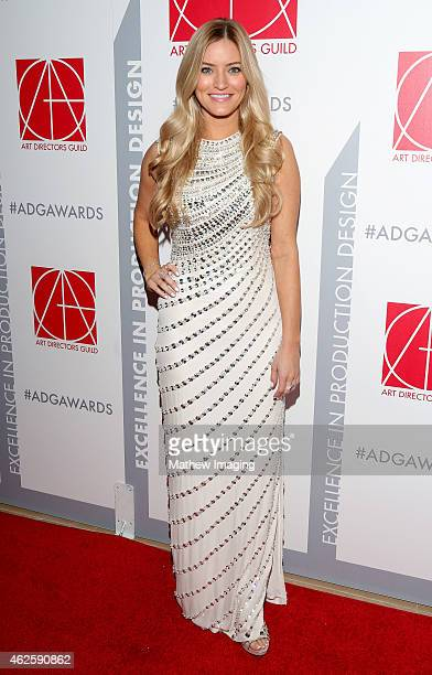 Internet personality iJustine attends the 19th Annual Art Directors Guild Excellence In Production Design Awards at The Beverly Hilton Hotel on...