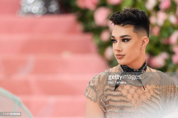Internet personality James Charles attends The 2019 Met Gala Celebrating Camp: Notes on Fashion at Metropolitan Museum of Art on May 6, 2019 in New...