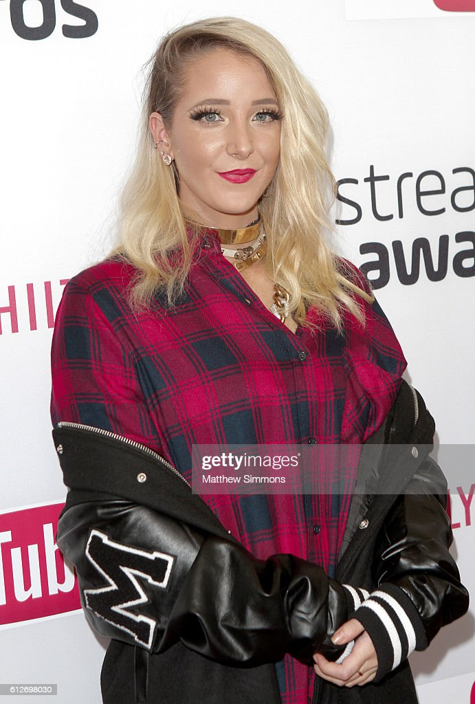 Internet personality Jenna Marbles attends the 2016 Streamy Awards at The Beverly Hilton Hotel on October 4, 2016 in Beverly Hills, California.