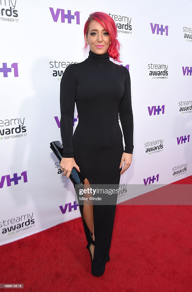 Internet personality Jenna Marbles attends VH1's 5th Annual Streamy Awards at the Hollywood Palladium on Thursday, September 17, 2015 in Los Angeles, California.
