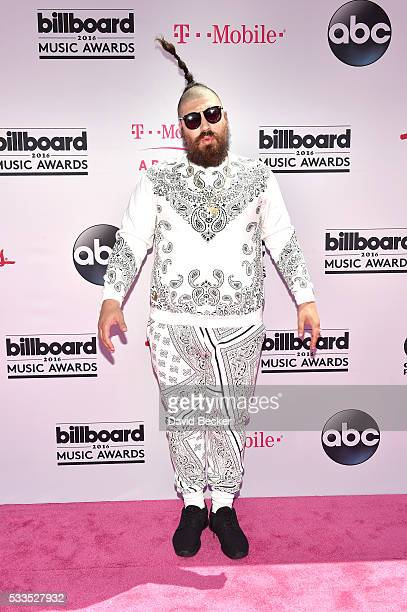 Internet personality Josh Ostrovsky aka 'The Fat Jew' attends the 2016 Billboard Music Awards at TMobile Arena on May 22 2016 in Las Vegas Nevada
