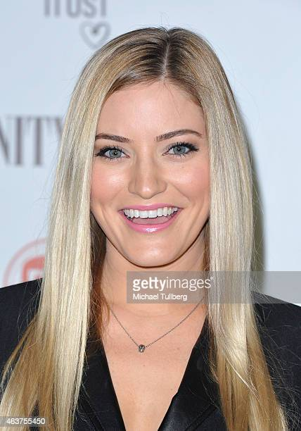 """Internet personality Justine Ezarik attends the Vanity Fair And Fiat Toast To """"Young Hollywood"""" in support of the Terrence Higgins Trust at No..."""