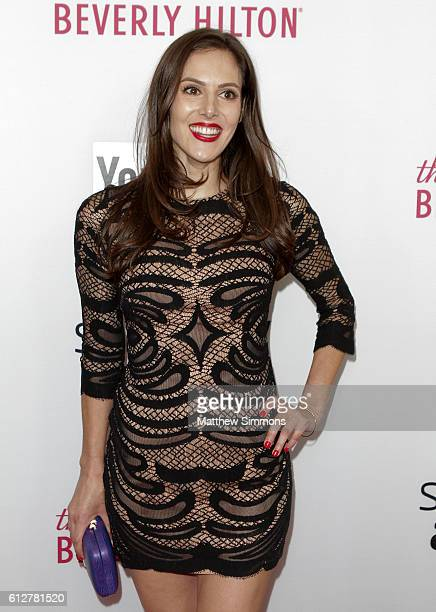 Internet personality Kelly Landry attends the 2016 Streamy Awards at The Beverly Hilton Hotel on October 4 2016 in Beverly Hills California