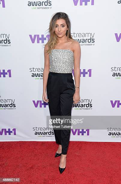 Internet personality Lauren Elizabeth attends the 5th Annual Streamy Awards at Hollywood Palladium on September 17 2015 in Los Angeles California
