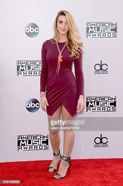 Internet personality Lele Pons attends the 2014 American Music Awards at Nokia Theatre LA Live on November 23 2014 in Los Angeles California