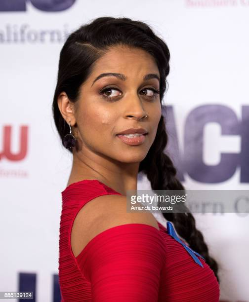 Internet personality Lilly Singh arrives at ACLU SoCal's Annual Bill of Rights Dinner at the Beverly Wilshire Four Seasons Hotel on December 3 2017...